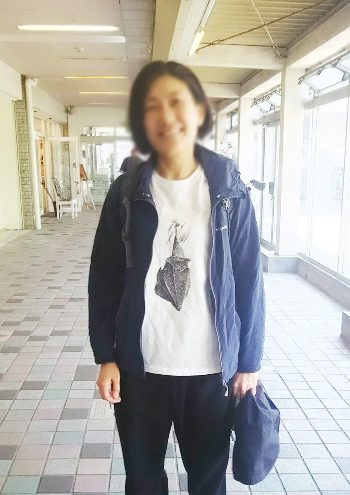こうもりTシャツ
