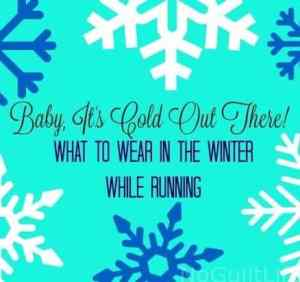 What to Wear in the Winter While Running
