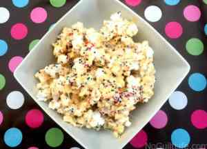 Simple Summer Celebrations | Birthday Cake Popcorn