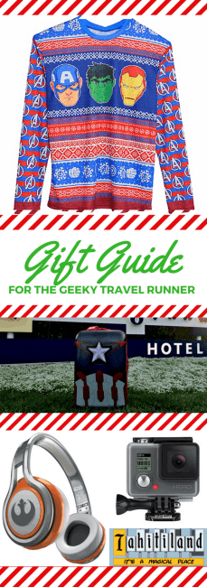 Runners, Travelers, Geeks. They can all be the same person! Check out a gift guide for this special type and see what they really want for Christmas this year. Holiday Gift Guide for the Geeky Traveler Runner   Marvel Gifts   Star Wars Gifts   Runner Gifts   Traveler Gifts