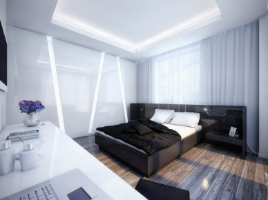 white-and-black-bedroom-665x498