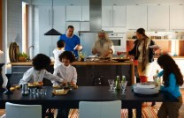 White-black-kitchen-diner-665x429