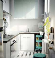 White-mint-ikea-kitchen