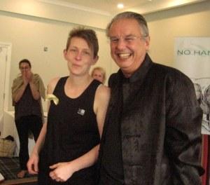 Master Beth Lloyd with Gerry