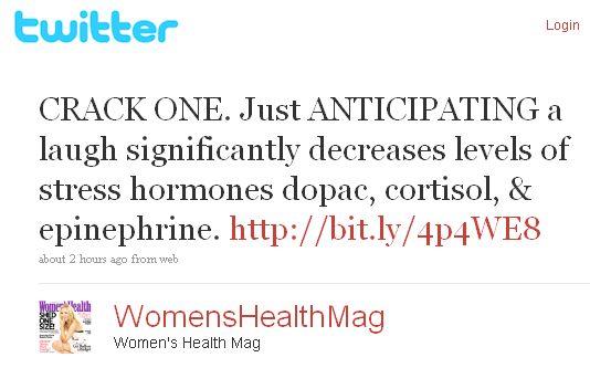 womens health twitter