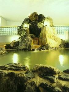 天然温泉のあがり湯