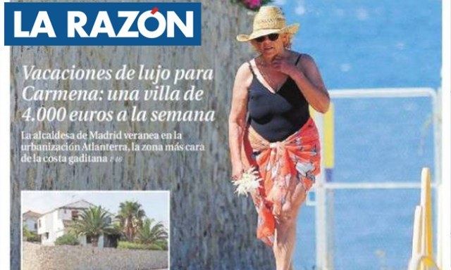 Vacaciones Carmena