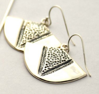 Kamapua'a Small Sterling Silver Earrings
