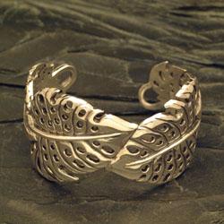 Monstera Cuff Bracelet