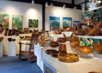 Honolulu Woodturners exhibit 2012