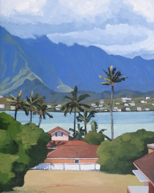 Kaneohe 20x16 by Brenda Cablayan