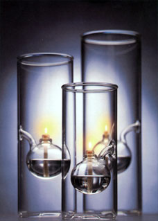 15 Quot Wolfard Glass Lamp Nohea Gallery