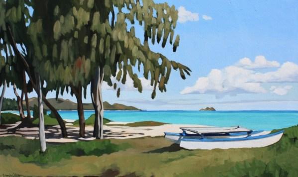 Brenda Cablayan original painting The Catamaran