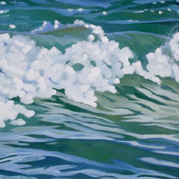 Brenda Cablayan original painting Kai Nalu 30 X 30