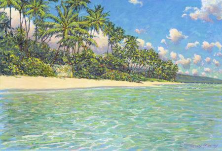 Ai Lowrey Kahala Beach Sample