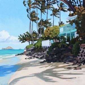 Brenda Cablayan original painting Lanikai Colors