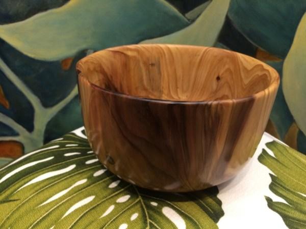 Carl Sherry Sugi Pine bowl