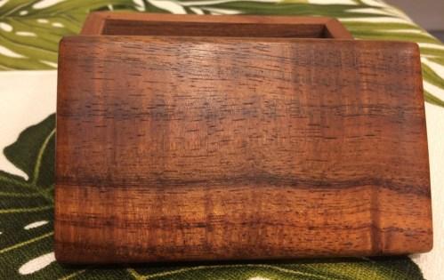 "Honolulu Woodworking Designs Koa Boxes 3x5x2.25"""