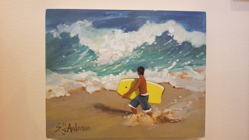 """Surging Urge by Susie Anderson 8"""" x 10"""""""