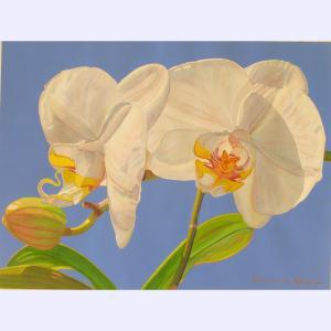 Fabienne Blanc original watercolor Pas de Deux