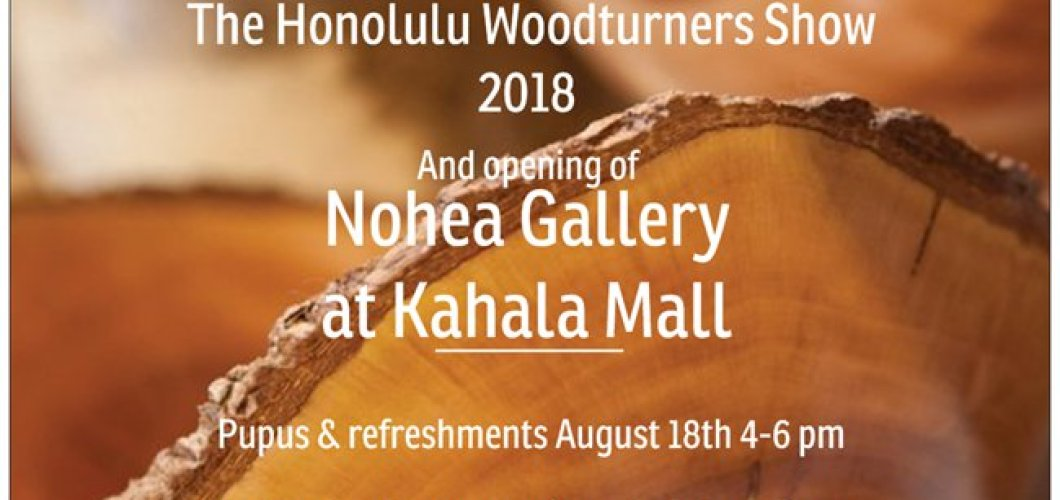 Honolulu Woodturners Show 2018