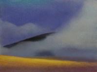 Diana Lehr original painting Shrouded 11 x 15
