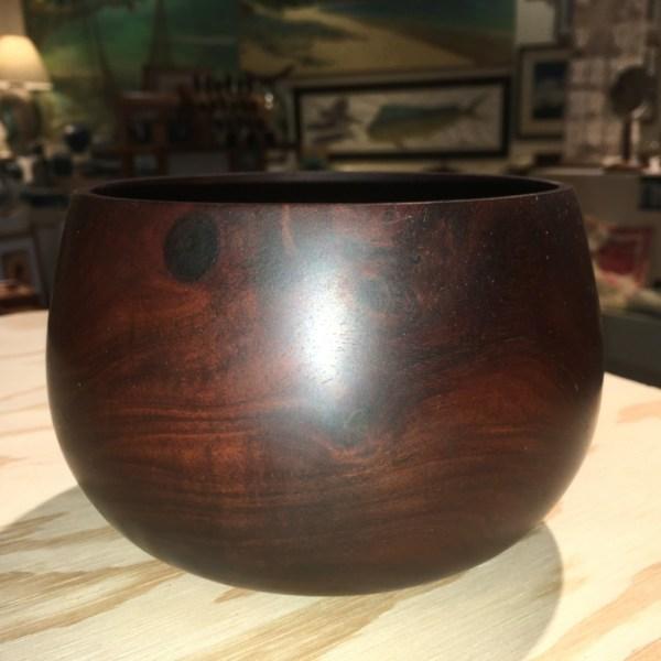 Milo wood traditional Hawaiian umeke (bowl) 5x4