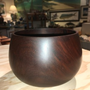 Milo wood traditional Hawaiian umeke (bowl) 5x4