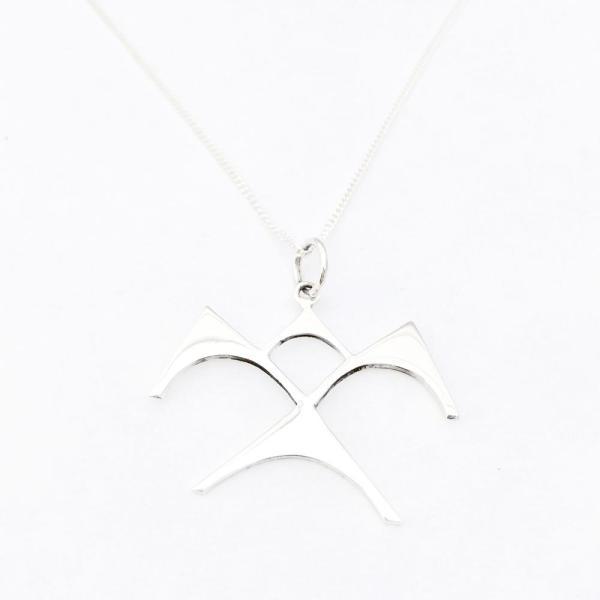 Paradisus Sonny Ching 'Iwa Ne'ekau sterling silver pendant with chain