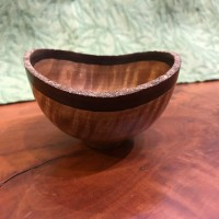 Andy Cole Natural Edge Cinnamon bowl 2x4