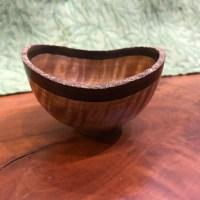 Andy Cole Natural Edge Cinnamon bowl 2x4