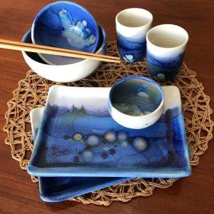 Jeff Chang Ceramics, Turquoise glazed stoneware