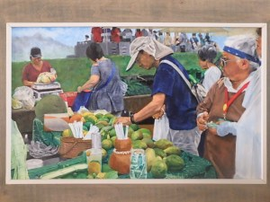 Burton Uhr 'Farmers Market (Waiting to pay)'