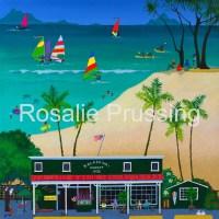 Rosalie Prussing Fun Times at Kailua Beach