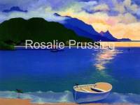 Rosalie Prussing Hanalei Bay Sunset