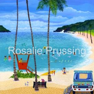 Rosalie Prussing Hanauma Bay Hawaii