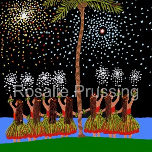 Rosalie Prussing Hula Nights Hawaii