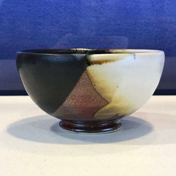 "Jeff Chang Earth Tone Stoneware Bowl 2""Hx4""D (representative)"