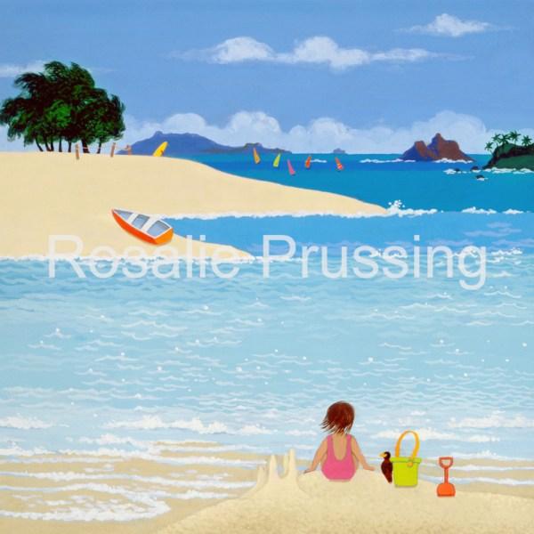 Rosalie Prussing Kailua Beach Hawaii
