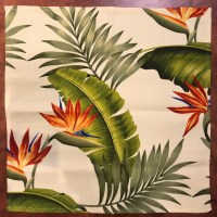 Maui Potpourri Retro Bark Cloth #K