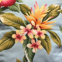 Maui Potpourri Retro Bark Cloth #F