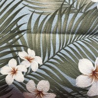 Maui Potpourri Retro Bark Cloth #D