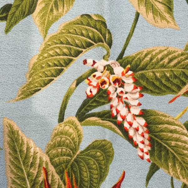 Maui Potpourri Retro Bark Cloth #J