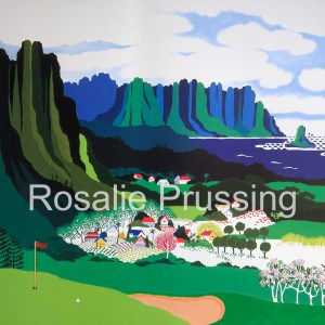 Rosalie Prussing Par at Pali - Hawaii