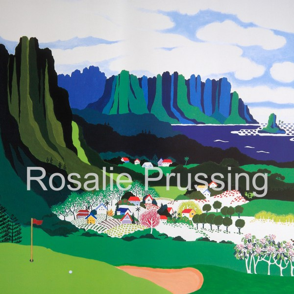 Rosalie Prussing Par at Pali - Hawaii