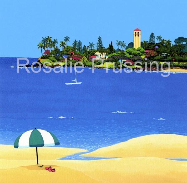 Rosalie Prussing Waimea Bay
