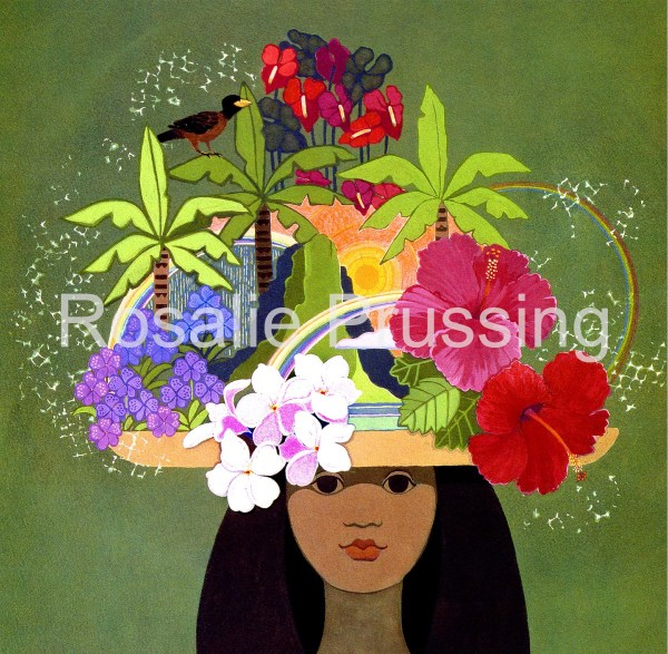Rosalie Prussing With Aloha