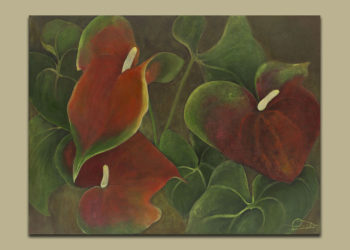 Ai Patricia Field Anthuriums Quietly Sample