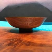 "John Berthiaume Koa Bowl & Kolohala Foot 2.5""H x 6.5""D"