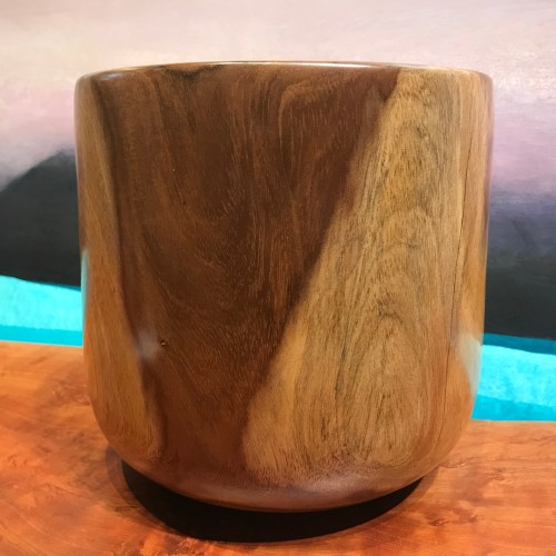 """Kou Calabash by Thomas Matsuda 7.75""""H x 7.75""""D $375"""